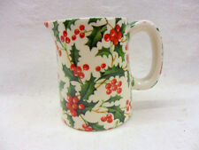 Holly chintz mini cream jug pitcher on special offer by Heron Cross Pottery