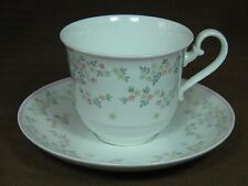 Villeroy and Boch Bone China Fleurosa Cup and Saucer from Heinrich, Germany