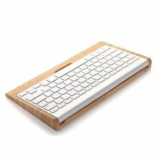 Wood Keyboard Stand Dock Holder For Mac Pro Wireless Bluetooth Keyboard NEW