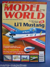 RCMW RC MODEL WORLD DECEMBER 2004 PETER MILLER PLAN LIL MUSTANG BROUSSARD