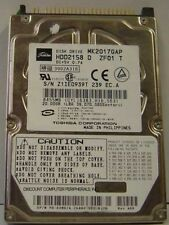Toshiba MK2017GAP HDD2158 20GB 2.5in IDE Drive 9 In stock Tested Good + Warranty