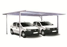 Spanbilt YardPro Double Carport Flat Roof 5.9m x 5.5m x 2.1m - EASTER SPECIAL
