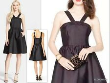 NWT($548) KATE SPADE New York Size 12 Black pavé trim fit & flare Cocktail dress