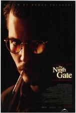 THE NINTH GATE Movie POSTER 27x40 B Johnny Depp Frank Langella Lena Olin