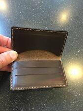 Horween Leather Wallet For Cards And Cash