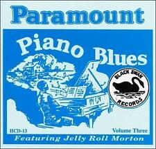 Various Artists-The Paramount Piano Blues CD NEW