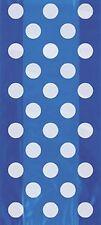 BLU POIS - 20 Sacchetti Di Cellofan 25cm x 13cm) - Pallini Festa Di Compleanno