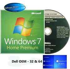 Windows 7 Home Premium 64  BIT Full Version OEM DVD and Product Key
