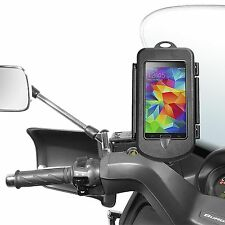 Apple iPhone 7 6 6S estuche rígido impermeable con soporte para moto e scooters