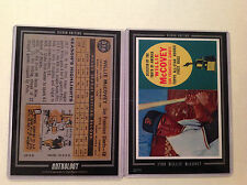 1960 WILLIE McCOVEY GIANTS RC HOF 2016 Topps Anthology 5X7 Silver #ed/49 made