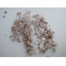 2.40 ct natural slices/chips diamond uncut raw rough pink diamonds 1.0-2.0 mm NR