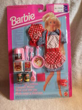 Very Rare FUN TO PLAY BARBIE FASHION - KITCHEN - Foreign Import Germany 1993