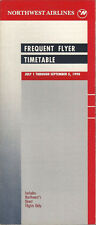 Northwest Airlines system timetable 7/1/90 [308NW] Buy 2 Get 1 Free