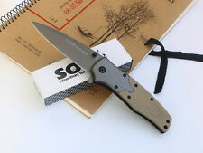 SOG Knife Assisted Opening Folding Pocket Saber Outdoor  Survival Rescue Gift FF