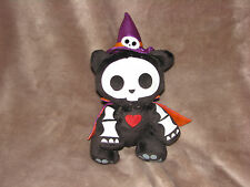 skeleanimals stuffed plush halloween witch hat cape stuffed plush bean bag toy