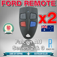 2 x Ford AU Falcon/FPV/XR6/XR8 Car Remote Series 2 & 3 99'-02' AU2/AU3