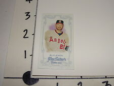 Bert Blyleven / ALLEN & GINTER 2013 A&G Dual Bat Mini S#/25 Angels Twins Pirates