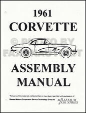 1961 Corvette Factory Assembly Manual 61 Exploded Views Chevy Chevrolet