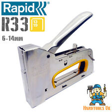 Rapid R33 Heavy Duty Long Life Professional Upholstery Tacker / Staple Gun