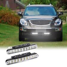 2Pcs 30 LED Car Daytime Running Light DRL Daylight Fog Lamp Turn Signal P4N4
