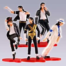 5 pezzi di Michael Jackson figura set -Dangerous-Billie Jean-Smooth Criminal-039