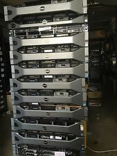 DELL POWEREDGE R710 8 CORE RACK SERVER 2X 2.4GHz E5620 12m 32GB 2X300GB SAS 15k