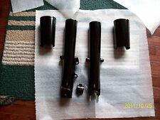 Harley touring fork legs/sliders fit  2000-2013-GLOSS BLACK POWDER-SINGLE BRAKE