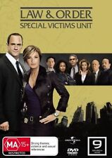 Law And Order Special Victims Unit Season 9 (DVD, 2009, 5-Disc Set) *NEW* Reg 4