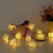 2M 20PCS LEDS WARMWEISS ROSE LICHTERKETTEN DIY DEKO F.WEIHNACHTS