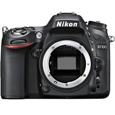 Nikon D7100 Body Only Black DSLR 24.1 MP Digital SLR Camera D-7100 ~ Brand NEW