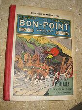 1921, 2ème semestre le bon point amusant cartonnage couleur