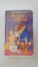 Beauty and the Beast (VHS, 1992) - Walt Disney's Black Diamond Classic-RARE