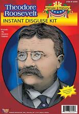 TEDDY THEODORE ROOSEVELT COSTUME KIT WG MOUSTACHE GLASSES FM60390