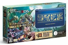 Nintendo 3DS LL Monster Hunter Cross Hunting Life Console Start Pack Japan ver.