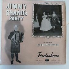 """vinyl lp record Jimmy Shand(10"""" ) Jimmy Shand's Party-Parlophone-PMD 1043"""