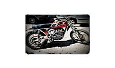 1971 Husqvarna 360 Bike Motorcycle A4 Photo Poster