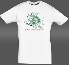 Bicycle T shirt Cycling Rider Gift  Bike tee Life Cycles on  NEW S - 5XL