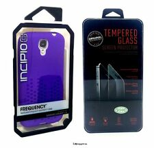 Incipio Frequency Case + Tempered Glass Screen Protector For Samsung Galaxy S4