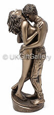 PASSION Standing Naked Lovers Entwined Nude Sculpture Erotic Statue Bronze NEW
