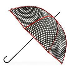 Totes Elegant Walker Umbrella - Wavy Check