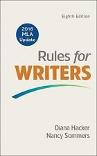 Rules for Writers with 2016 MLA Update by Diana Hacker and Nancy Sommers (2016,