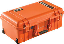 Orange Pelican 1535 Air No Foam.  With wheels and Carry on approved.