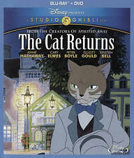 The Cat Returns (Blu-ray/DVD, 2015, 2-Disc Set)