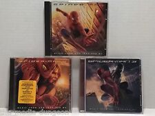 Spider-Man 1 2 3 (2002/2004/2007) Music From and Inspired By Soundtrack CD Lot