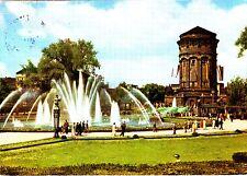 Mannheim , Am Wasserturm  , Ansichtskarte, 1960 gelaufen