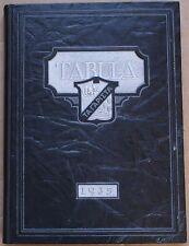 1935 Oak Park & River Forest High School Tabula Yearbook w/1996 Reunion Booklet
