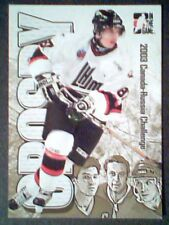 SIDNEY CROSBY  2003 CANADA-RUSSIA CHALLENGE INSERT GOLD CARD /87  SP