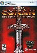 Age of Conan - Hyborian Adventures  (PC, 2008) Rated M17+ for Mature 17+ 2 dis,