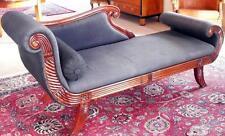 Chaise longue recamiere CANAPE sofa canapé siège chaise longue mobilier baroque empire biederm.
