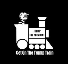 Donald Trump Train Bumper Sticker Window Laptop Car Decal  Jeep Truck